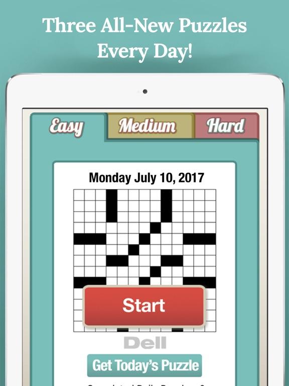 Penny Dell Daily Crosswordのおすすめ画像1