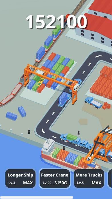 Idle Port Tycoon - Sea game screenshot 3
