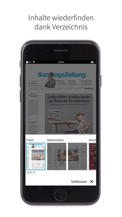 SonntagsZeitung E-Paper screenshot-3