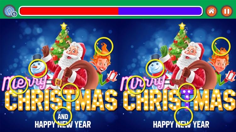 Spot It Christmas Holidays Fun