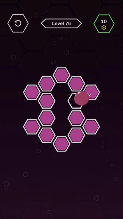 Roller Splat Hexagon screenshot-3