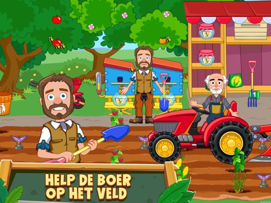 My Town : Farm iPad app afbeelding 5
