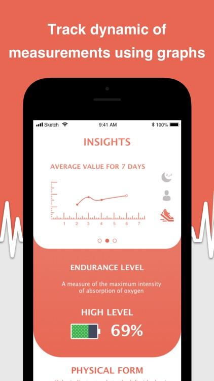MyBPM - Heart Rate Monitor screenshot-3