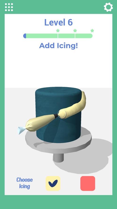 我做蛋糕贼6!(Icing on the Cake) App 截图