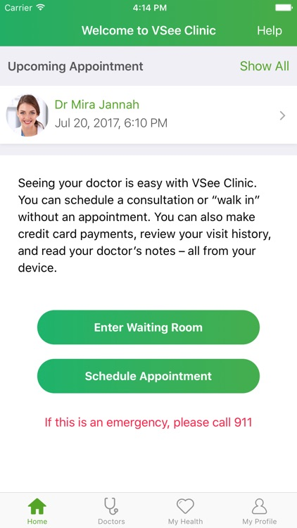VSee Clinic for Patient