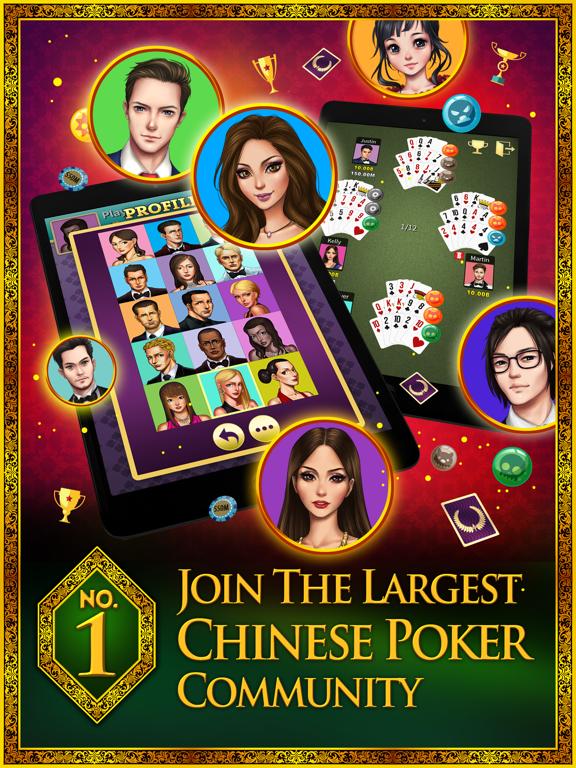 KK Chinese Poker (Pusoy/十三張)-ipad-0
