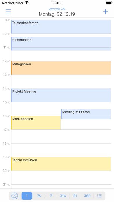 miCal - der KalenderScreenshot von 2