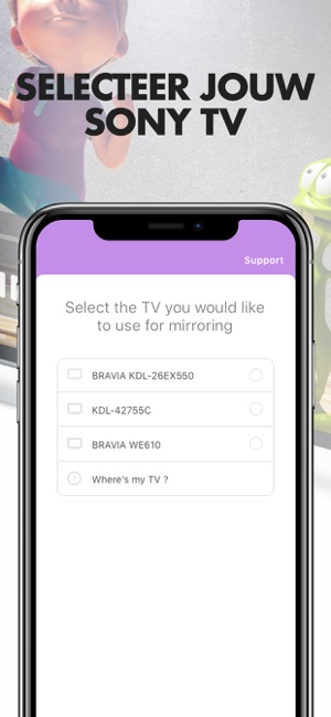 Mirror Voor Sony Smart Tv In De App, How To Mirror Iphone 11 Sony Bravia Tv