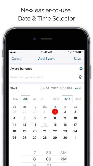 Informant 5 Calendar Screenshot