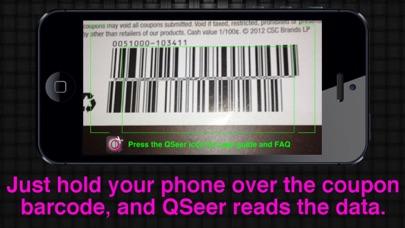 QSeer Coupon Reader Screenshot