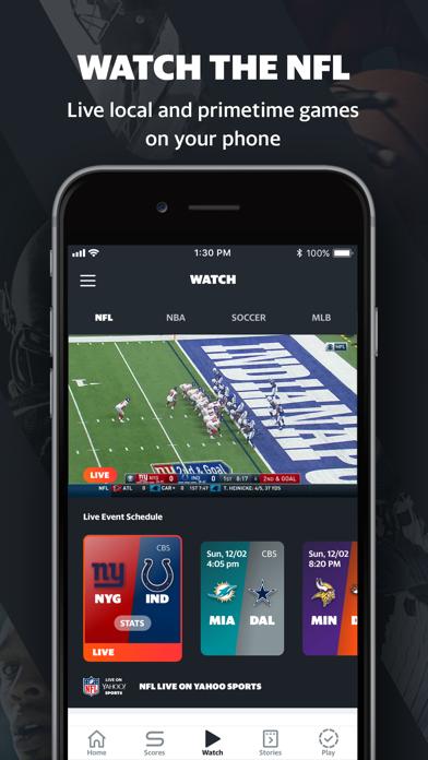 Yahoo Sports: Watch Live NFL-1