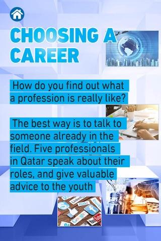 Career Guide QCDC Qatar - náhled