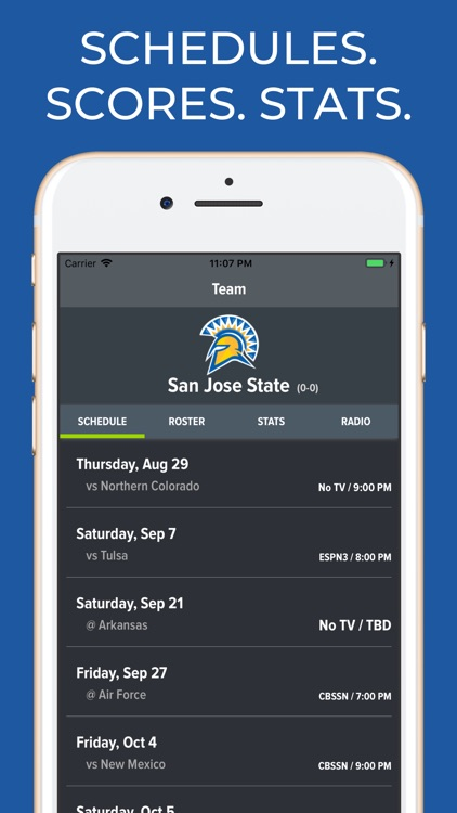 San Jose State Football App screenshot-0
