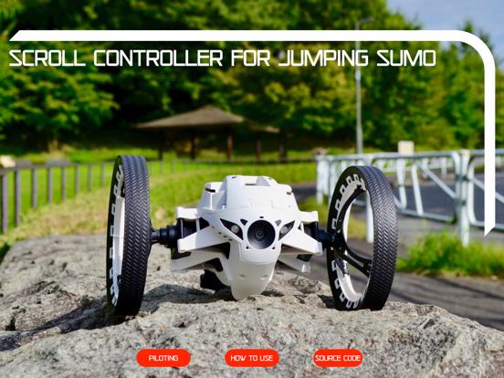 Scroll Controller Jumping Sumo screenshot 11
