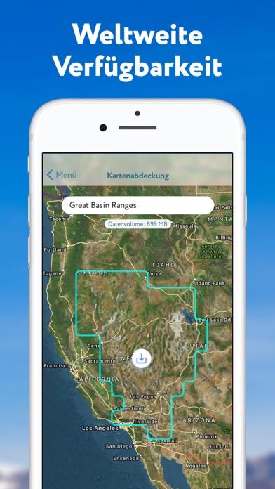 Screenshot for PeakVisor in Germany App Store