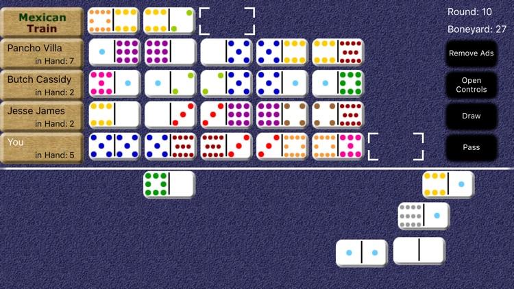 Mexican Train Dominoes screenshot-8