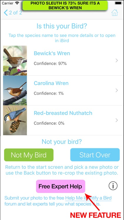 iBird Photo Sleuth screenshot-5