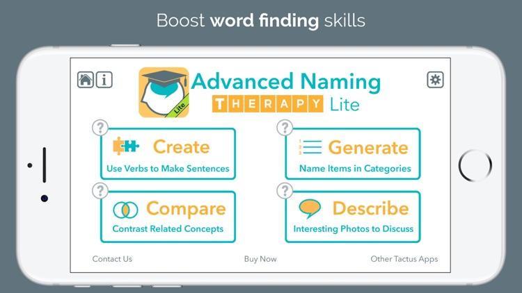 Advanced Language Therapy Lite screenshot-3