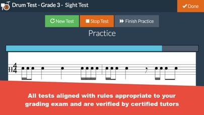 Grade 3 Drum Test Practice