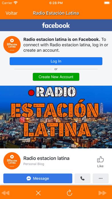 Radio Estación Latina screenshot #4