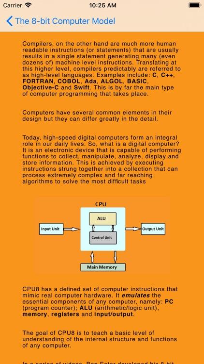 CPU8 screenshot-1