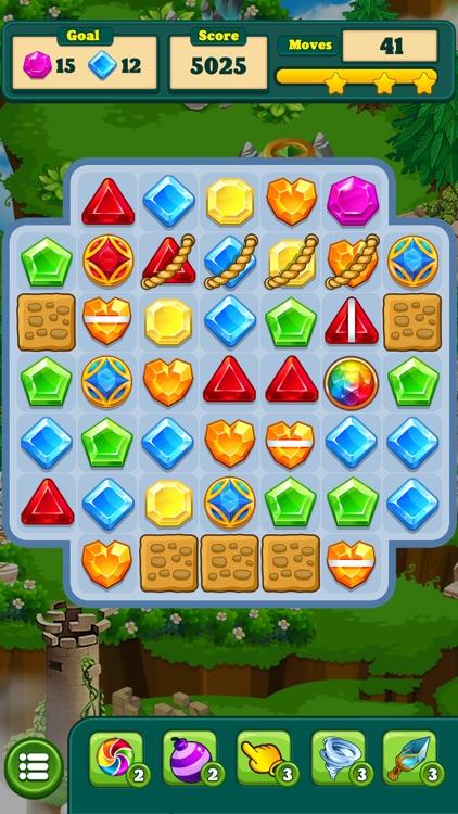 Gem Blast Match-3 Jewel Crush screenshot-3