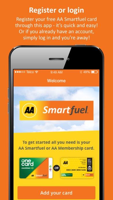 AA Smartfuel screenshot one