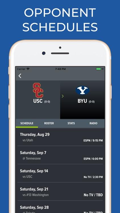 USC Football Schedules screenshot-6