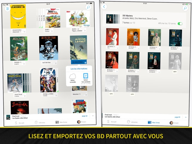 ‎BD Comics Sequencity × Leclerc Capture d'écran
