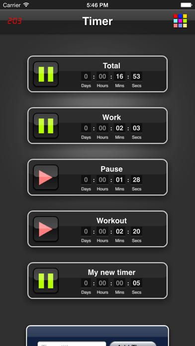 Timer App screenshot four