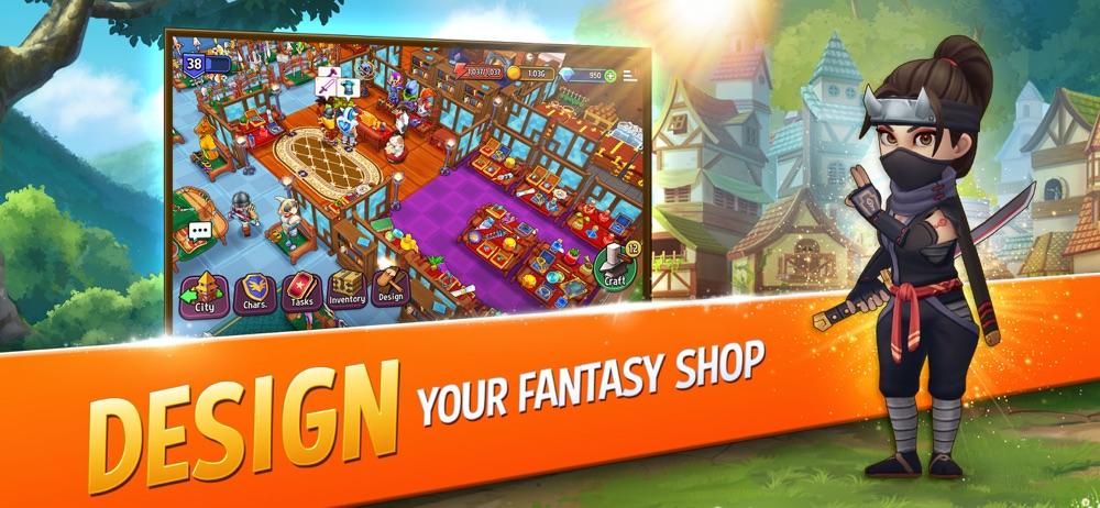 Shop Titans: Craft & Build Cheat Codes