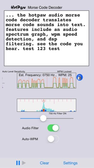 MorseDecoderのおすすめ画像2
