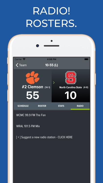 NC State Football App screenshot-1