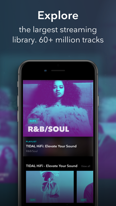TIDAL Music Screenshot