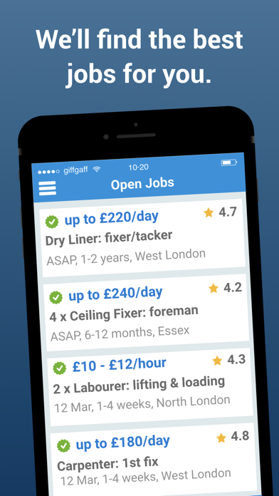 UK Construction Jobs - JOBHAWK screenshot two