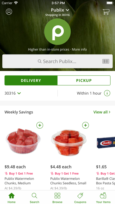 Download Publix Delivery for Android