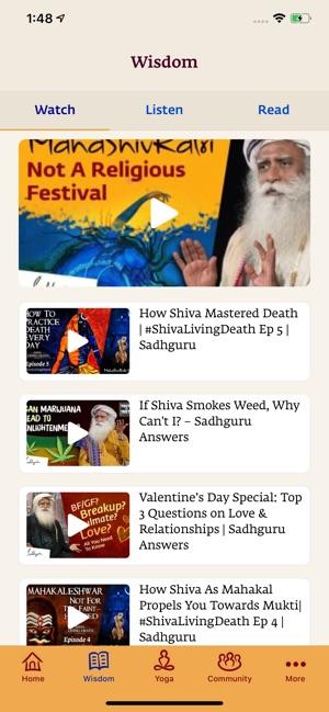 Sadhguru Yoga Meditation On The App Store