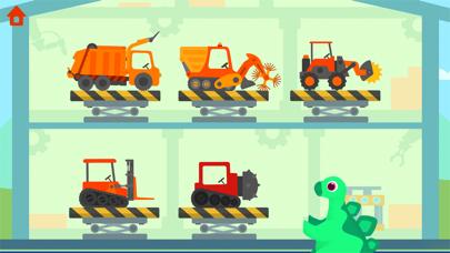 恐竜ゴミ収集車 - キッズ向けゴミ収集車ゲームのおすすめ画像4