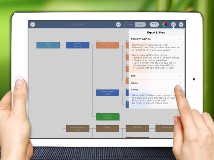 WBS - Project Work Breakdown screenshot-4