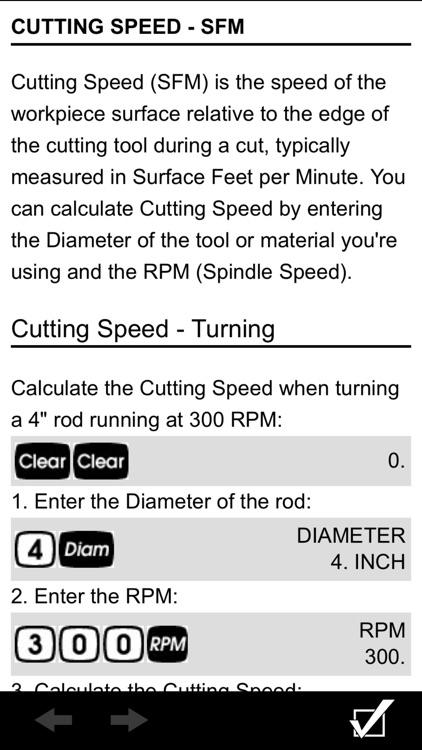 Machinist Calc Pro 2 screenshot-6