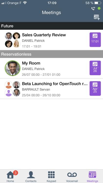OpenTouch Conversation Plus screenshot-3