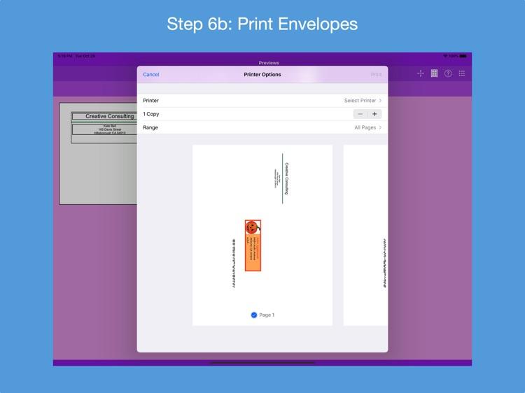 Addressed Envelope Designer screenshot-7