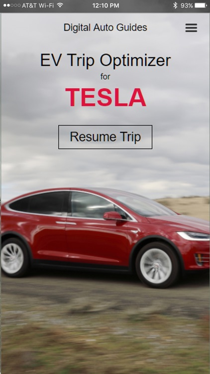 EV Trip Optimizer for Tesla