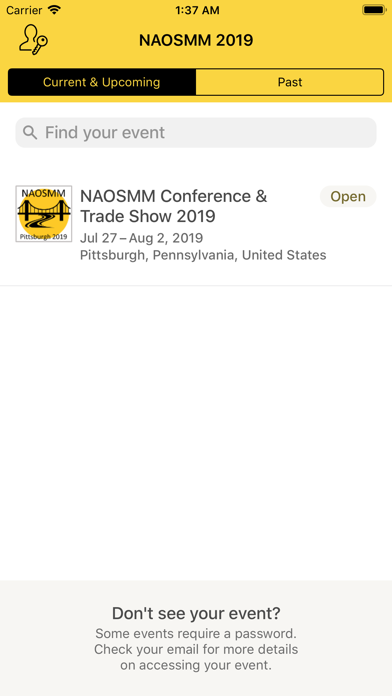 NAOSMM 2019 screenshot two