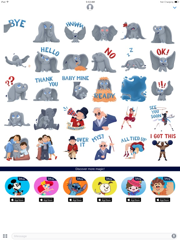 Disney Stickers: Dumbo screenshot 5