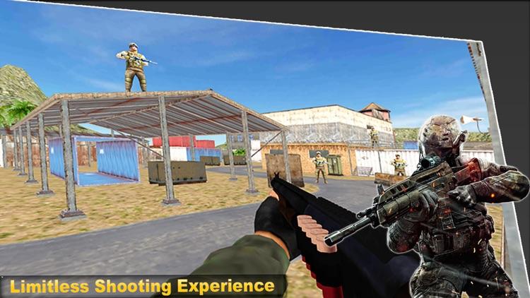 Commando strike Gun Shooter screenshot-5
