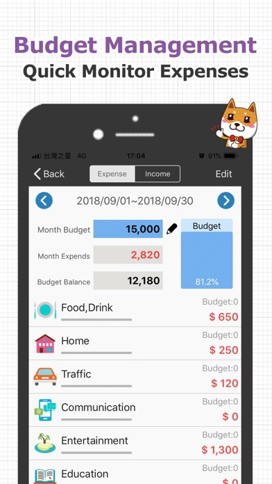 CWMoney Pro - Expense Tracker Screenshots
