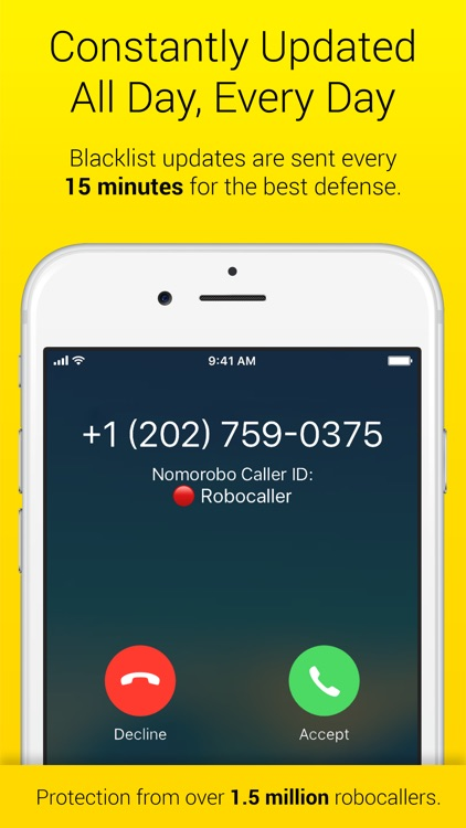 Nomorobo Robocall Blocking