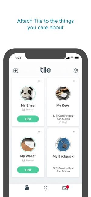 Tile - Find lost keys & phone on the App Store
