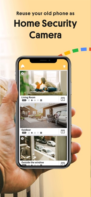 Alfred Home Security Camera on the App Store